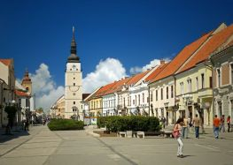 English teachers needed in a friendly town is Slovakia